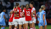 Arsenal thrashed Manchester City in the WSL