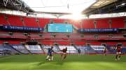 Will keiner mehr sehen: leere Stadien (wie hier in London beim letztjährigen FA-Cup-Finale)
