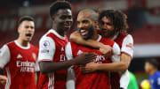 Martinelli, Saka, Lacazette et Elneny semblent être des symboles du renouveau d'Arsenal