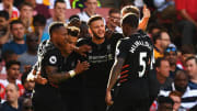 Liverpool beat Arsenal in a seven-goal thriller in 2016