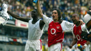Arsenal's (L to R) Kolo Toure, Robert Pi