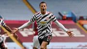 La joie de Mason Greenwood après son but face à Aston Villa.