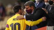 Messi segue com o futuro em aberto