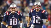 Jimmy G and Tom Brady