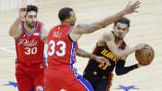Hawks y 76ers deciden este domingo quién será el segundo equipo finalista en el Este