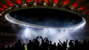 La magia de los estadios con gente