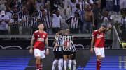 Atletico Mineiro v River Plate - Copa CONMEBOL Libertadores 2021 - Mineiro festeja , River se lamenta.