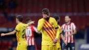 Gerard Piqué se lesionó en noviembre en el Wanda
