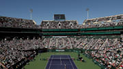 The BNP Paribas Open finals in 2019.
