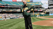 Longtime Oakland Athletics PA announcer Roy Steele passed away on Thursday.
