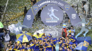 Banfield v Boca Juniors - Copa Diego Maradona 2020 Final - Boca, campeón.