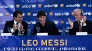 Messi es uno de los canteranos que debutó durante la primera gestión de Laporta
