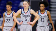 Arizona vs UConn prediction and women's college basketball pick straight up for Friday's March Madness NCAAW Tournament game.