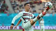 Cristiano Ronaldo en el último partido de Portugal en la Eurocopa