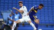 Jogador irá atuar no futebol francês | Boca Juniors v Santos - Copa CONMEBOL Libertadores 2020
