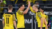 Mats Hummels war trotz des 4:2-Erfolgs gegen Union Berlin nicht voll zufrieden