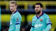 Frenkie De Jong, Lionel Messi