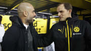 Guardiola and Tuchel have faced off in the Bundesliga and Champions League