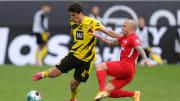 Angelino (r.) wird im Pokalfinale gegen den BVB nicht dabei sein
