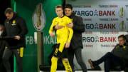 Marco Reus hat die Rückendeckung seines Trainers, ihn zu decken fällt den Gegnern momentan allerdings leicht