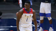 Zion Williamson, Boston Celtics v New Orleans Pelicans