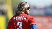 Philadelphia Phillies star Bryce Harper isn't worried about coronavirus.