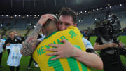 Copa America finalinden sonra Lionel Messi ve Neymar