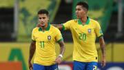 Coutinho starred for Brazil alongside former Liverpool teammate Firmino