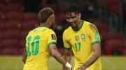 Neymar Jr. e Lucas Paquetá