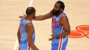 Durant y Harden disputan su primera temporada con los Brooklyn Nets
