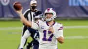 Josh Allen, Buffalo Bills v Tennessee Titans