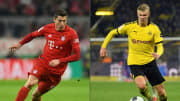 Robert Lewandowski and Erling Haaland are the two highest goalscorers in Europe this season