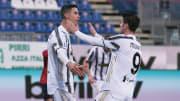 Cristiano Ronaldo dan Alvaro Morata