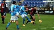 La rete di Zielinski contro il Cagliari