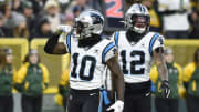 Carolina Panthers WR Curtis Samuel is entering a contract year.