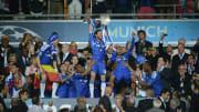 Chelsea's Spanish forward Juan Mata (C)