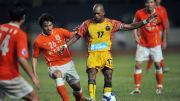 China's footballer Shandong Luneng Xia N