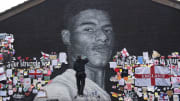 The Marcus Rashford mural has been repaired