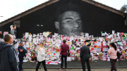 The messages placed on the Marcus Rashford mural in Withington after it was vandalised will now live on in digital form