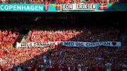 Denmark honors Christian Eriksen