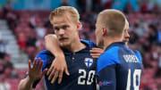 Finland won their first ever European Championship match