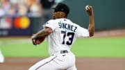 Top fantasy baseball starting pitcher sleepers for 2021 drafts, including Sixto Sanchez.