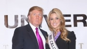 Carrie Prejean and Donald Trump