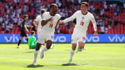 Raheem Sterling fired England to victory