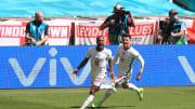 Sterling scored England's winner against Croatia