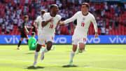 Raheem Sterling erzielte den Treffer der Three Lions im ersten Gruppenspiel gegen Kroatien