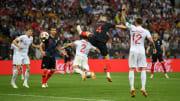 Croatas levaram a melhor na Rússia, em 2018