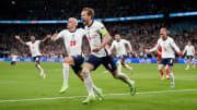 Harry Kane metió a Inglaterra en la final de la Eurocopa