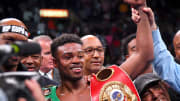 Unified welterweight champion Errol Spence Jr. after defeating Shawn Porter