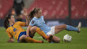 Manchester City versus Everton is one of six WSL fixtures this weekend